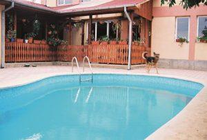 A medence szerkezetének vízzáróssága nagyon fontos
